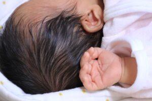 赤ちゃん 頭